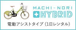 電動アシストタイプ(1日レンタル)